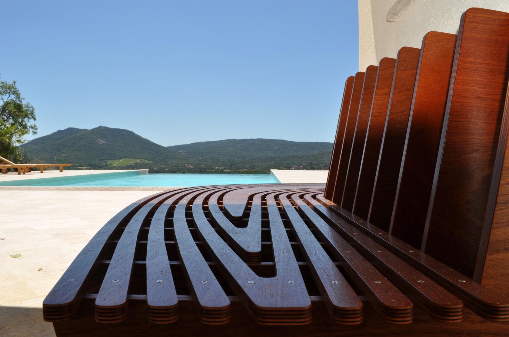 bancs pool house ludovic avenel b niste cr ateur paris. Black Bedroom Furniture Sets. Home Design Ideas
