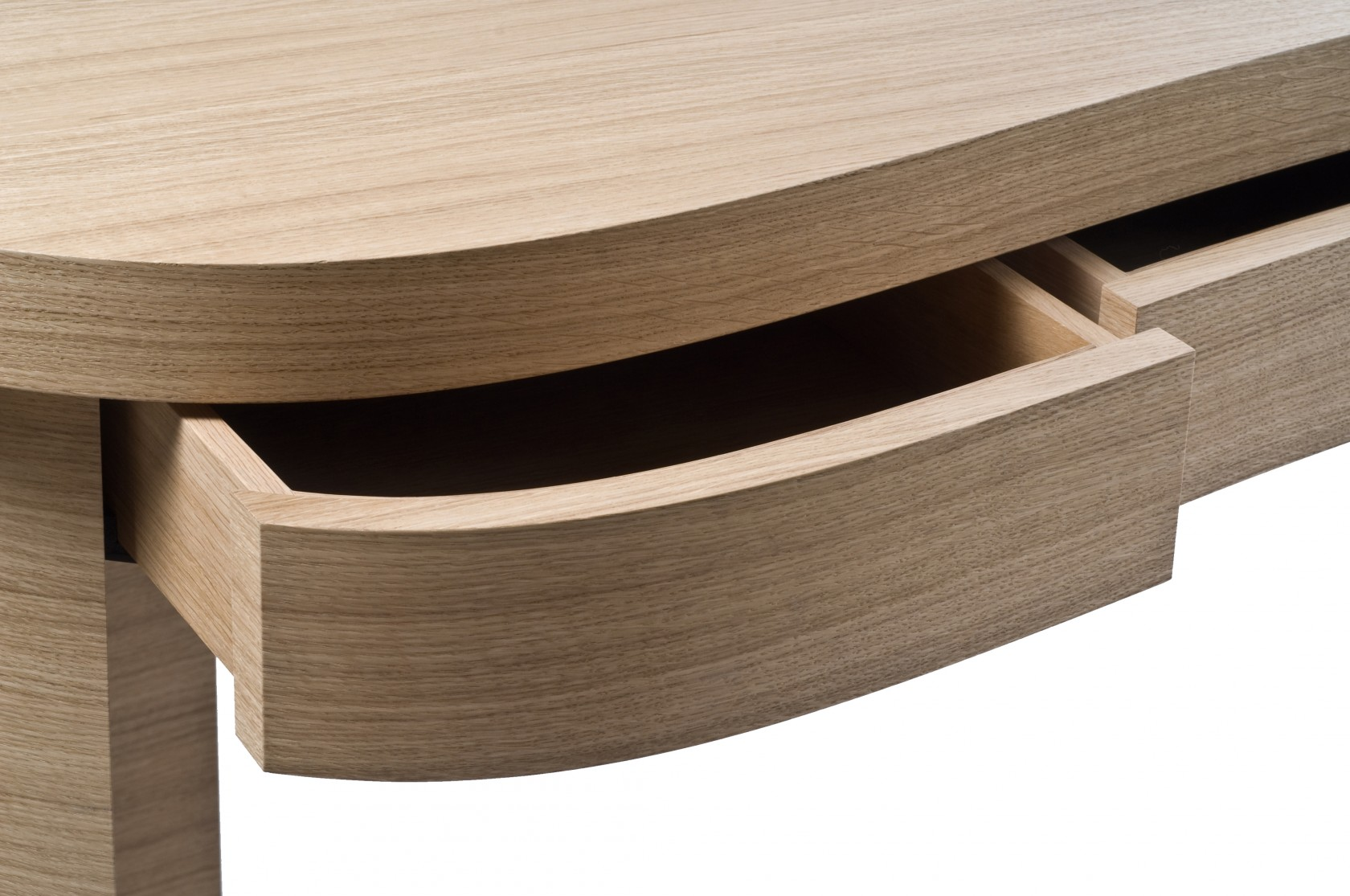desk in oak and streel ludovic avenel b niste cr ateur. Black Bedroom Furniture Sets. Home Design Ideas