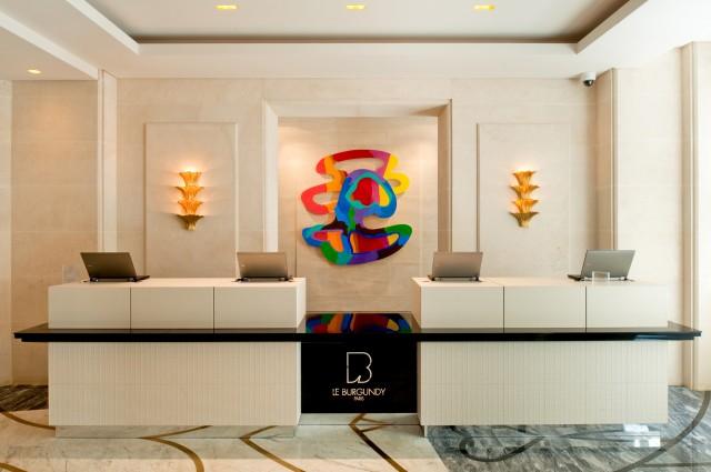 Desk d accueil ludovic avenel b niste cr ateur paris for Hotel design bourgogne