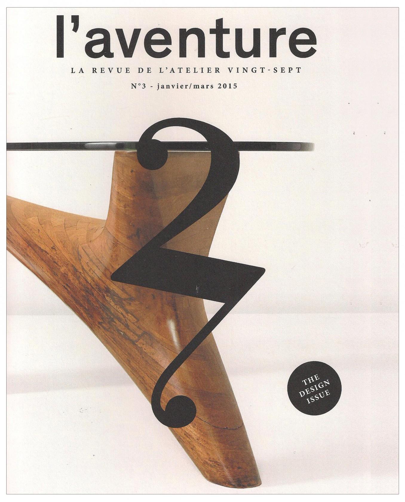 Ludovic AVENEL : ébéniste créateur Paris - Ludovic_Avenel_press_l'aventure_créateur_design_sur mesure_3