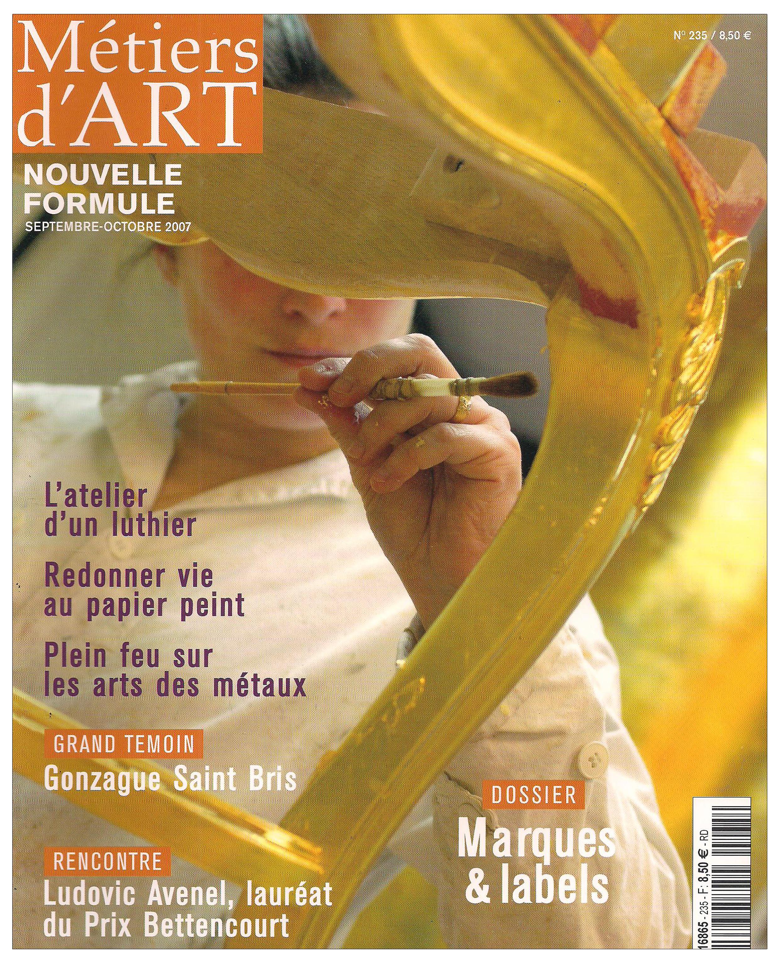 Ludovic AVENEL : ébéniste créateur Paris - Ludovic_Avenel_press_métiers d'art_ebeniste_créateur_design_sur mesure_1