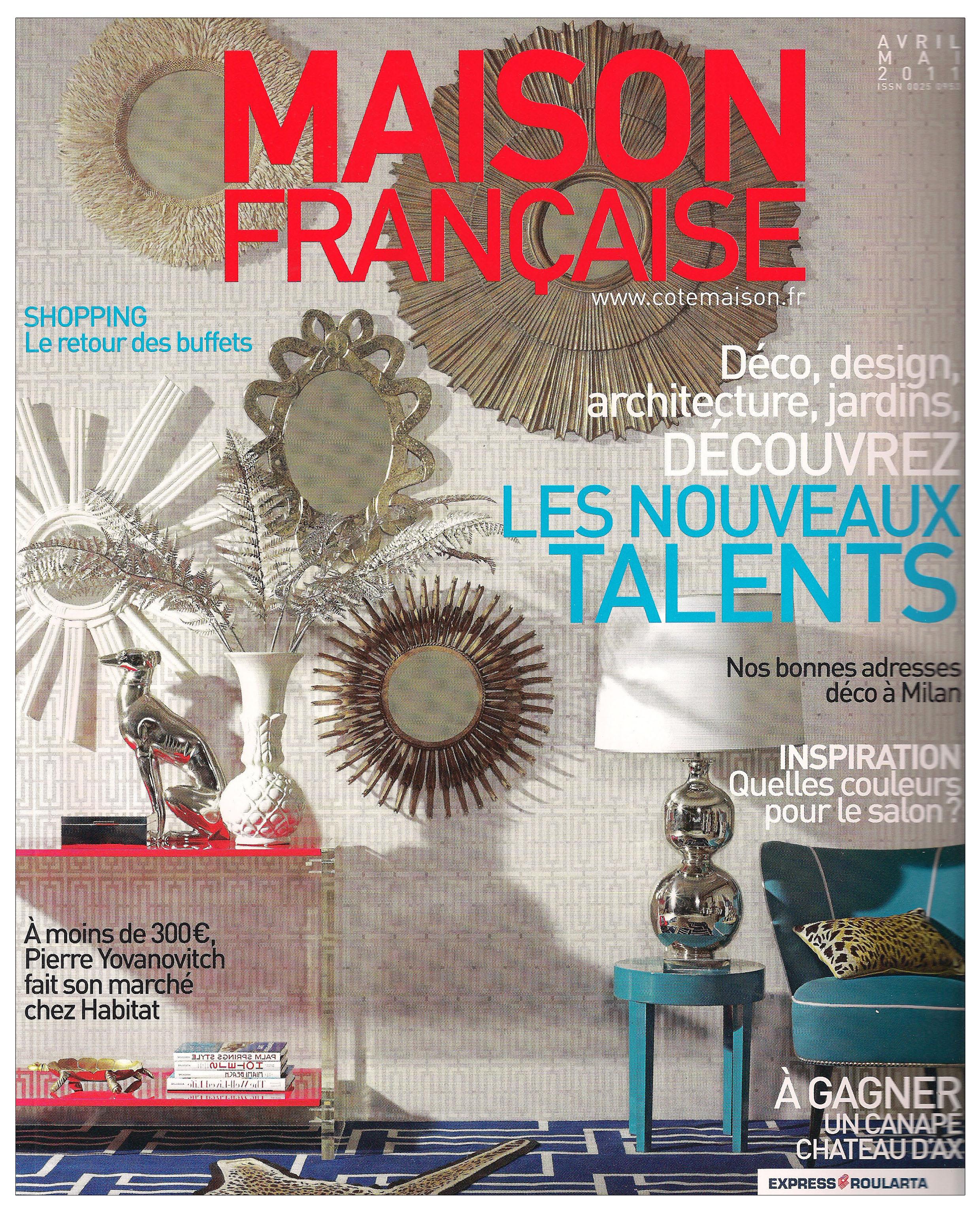 Ludovic AVENEL : ébéniste créateur Paris - Ludovic_Avenel_press_maison_française_ebeniste_créateur_design_sur mesure_1