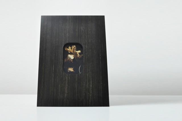 Ludovic AVENEL : ébéniste créateur Paris -  Ludovic_Avenel_artiste_Aline Nader_cadre sur mesure_ 2