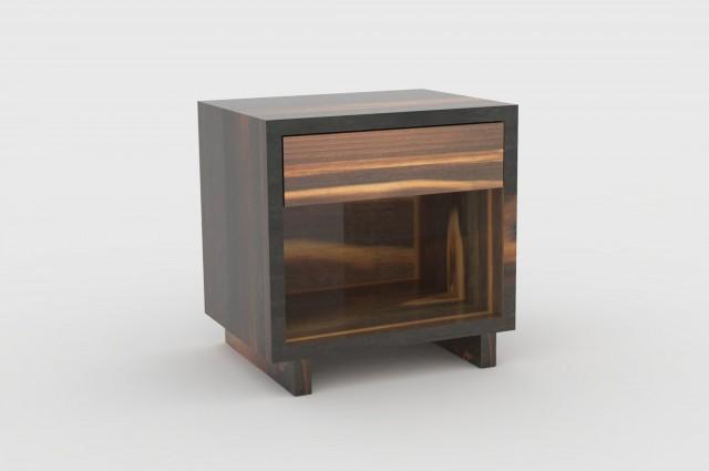 bedheads smoked wood ludovic avenel b niste cr ateur. Black Bedroom Furniture Sets. Home Design Ideas