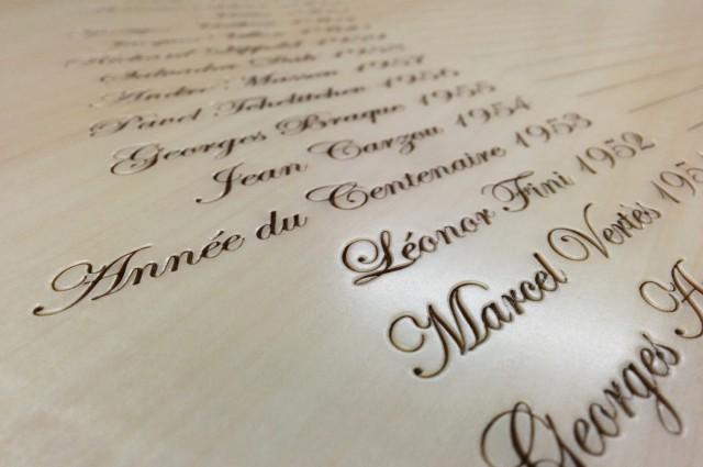 Ludovic AVENEL : ébéniste créateur Paris -  Ludovic_Avenel_cave_à_vin_l'impératrice_wine_mouton_rothschild_ebeniste_créateur_design_sur mesure_6