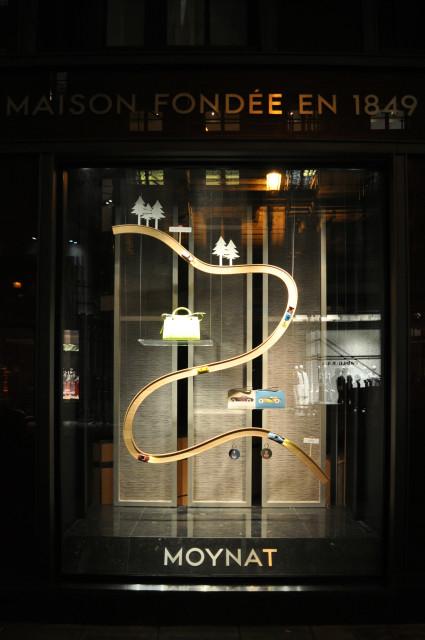Ludovic AVENEL : ébéniste créateur Paris -  Ludovic Avenel_ Moynat_vitrine_circuit voiture (4)