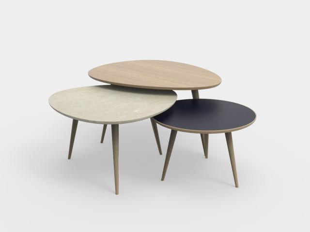 Ludovic AVENEL : ébéniste créateur Paris -  Ludovic Avenel_table basse_table gigogne_table design_ébénisterie (8)