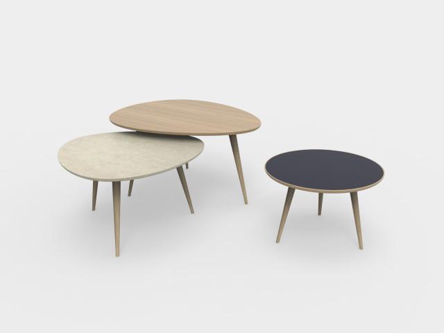 fran ais tables basses gigognes ludovic avenel. Black Bedroom Furniture Sets. Home Design Ideas