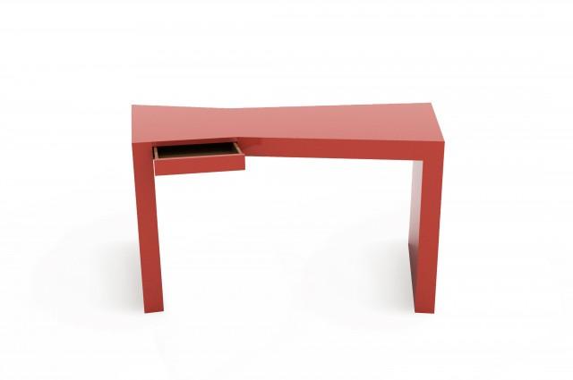 Ludovic AVENEL cabinet maker Paris -  Ludovic_Avenel_bureau_laque_yovanovitch_ebeniste_créateur_design_sur mesure_3