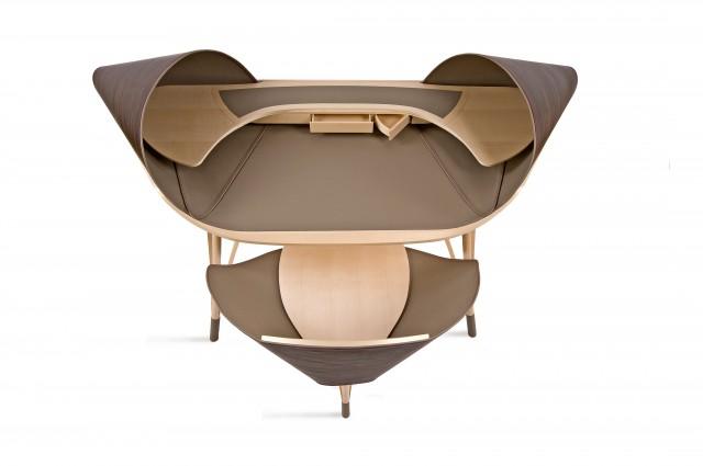 Ludovic AVENEL cabinet maker Paris -  Ludovic_Avenel_bureau_elytre_ebeniste_créateur_design_sur mesure_4