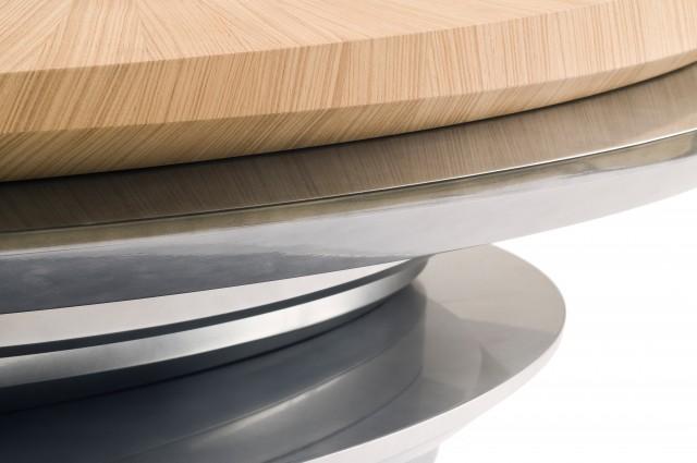 Ludovic AVENEL cabinet maker Paris -  Ludovic_Avenel_table_basse_galet_ebeniste_créateur_design_sur mesure_2