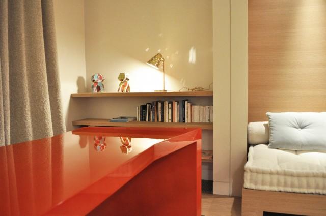Ludovic AVENEL cabinet maker Paris -  Ludovic_Avenel_bureau_laque_yovanovitch_ebeniste_créateur_design_sur mesure_1