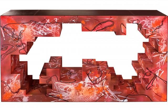 Ludovic AVENEL cabinet maker Paris -  Ludovic_Avenel_console_laffy_ebeniste_créateur_design_sur mesure_5
