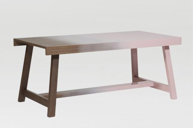 Ludovic AVENEL cabinet maker Paris -  Ludovic_Avenel_galerie_kréo_table_niebla_hella_jongerius_ebeniste_créateur_design_sur mesure_4