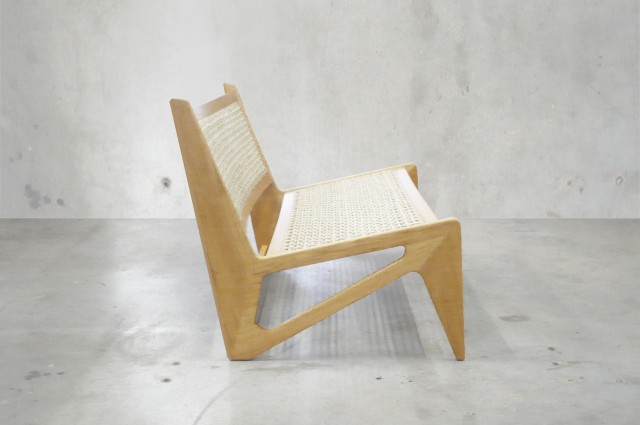 Ludovic AVENEL cabinet maker Paris -  fauteuil sur mesure Isabel Marant