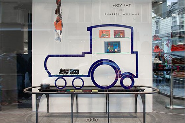 Ludovic AVENEL cabinet maker Paris -  Ludovic_Avenel_moynat_colette_pharrell_williams_créateur_design_sur mesure_1