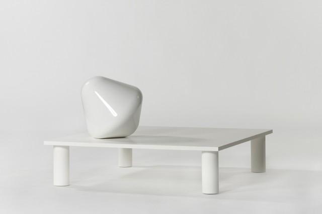 Ludovic AVENEL cabinet maker Paris -  Ludovic_Avenel_galerie_kréo_table_ignotus_nomen_pierre_charpin_ebeniste_créateur_design_sur mesure_1