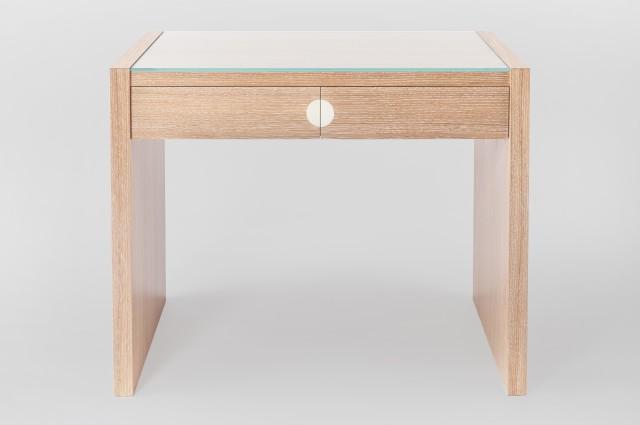 Ludovic AVENEL cabinet maker Paris -  Ludovic_Avenel_bureau_chêne_cérusé_ebeniste_créateur_design_sur mesure_1
