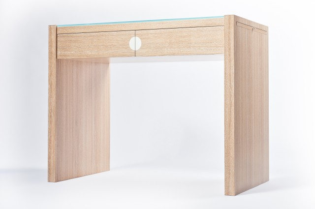 Ludovic AVENEL cabinet maker Paris -  Ludovic_Avenel_bureau_chêne_cérusé_ebeniste_créateur_design_sur mesure_3
