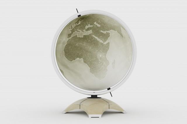 Ludovic AVENEL - Ebéniste Paris - Fabrication de meubles sur mesure -  Ludovic_Avenel_globe_Malteran_ebeniste_créateur_design_sur mesure_1