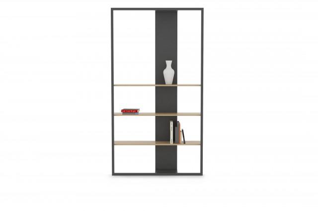 Ludovic AVENEL cabinet maker Paris -  Ludovic_Avenel_bibliothèque_filigrane_ebeniste_créateur_design_sur mesure_1