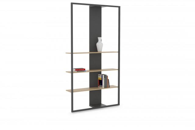 Ludovic AVENEL cabinet maker Paris -  Ludovic_Avenel_bibliothèque_filigrane_ebeniste_créateur_design_sur mesure_2