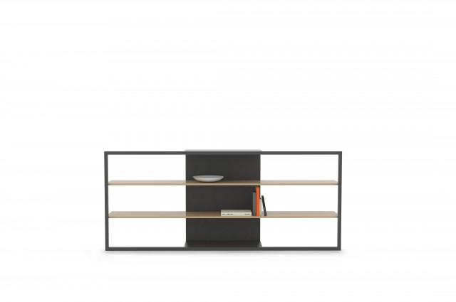 Ludovic AVENEL cabinet maker Paris -  Ludovic_Avenel_bibliothèque_filigrane_ebeniste_créateur_design_sur mesure_5