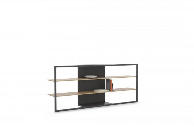 Ludovic AVENEL cabinet maker Paris -  Ludovic_Avenel_bibliothèque_filigrane_ebeniste_créateur_design_sur mesure_6