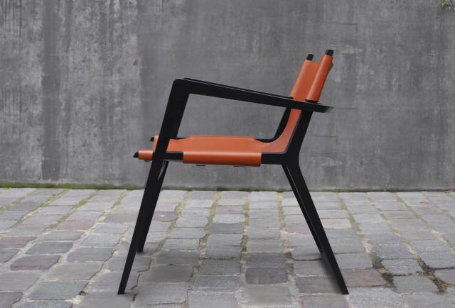 Ludovic AVENEL cabinet maker Paris -  Ludovic Avenel_design_fauteuil_Fauteuil Havane (3)