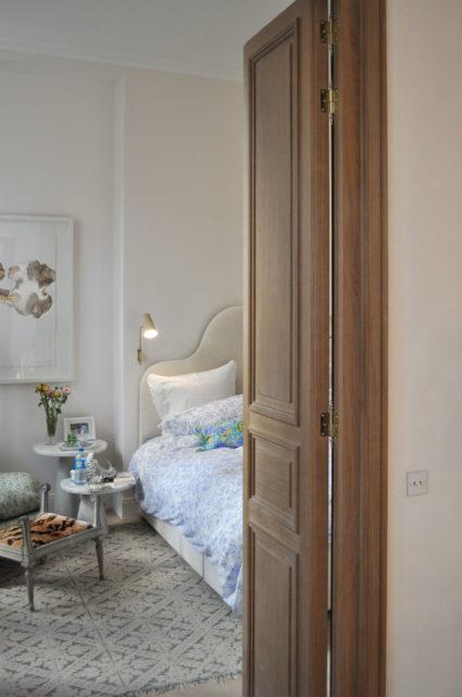 Ludovic AVENEL cabinet maker Paris -  Bloc porte en chêne Ludovic Avenel